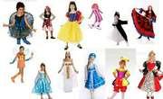 На прокат детские карнавальные костюмы